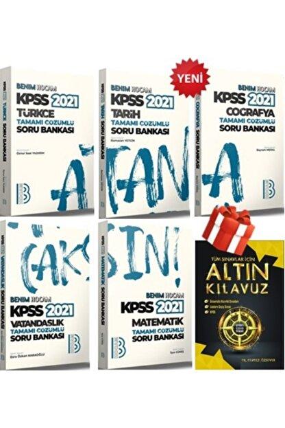 Benim Hocam Yayınları 2021 Kpss Gy Gk Atandıran Soru Bankası Süper Full Set 10 Kitap + Altın Kılavuz'lu 5 Kitap Hediye