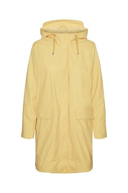 Vero Moda Kapüşonlu Polarlı Yağmurluk Mont 10238956 Vmastafleece