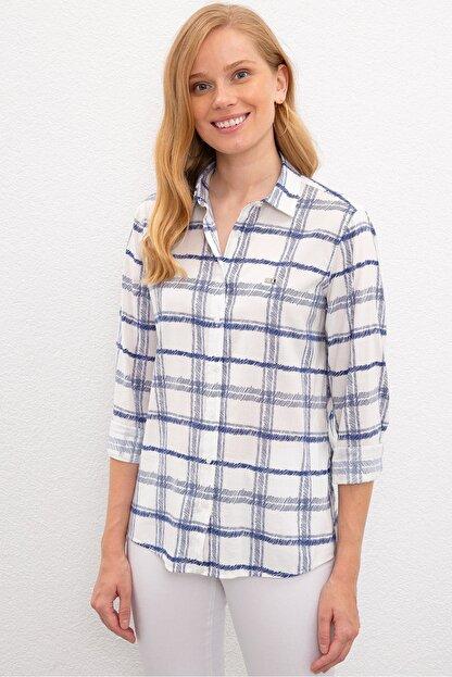 US Polo Assn Lacıvert Kadın Gömlek