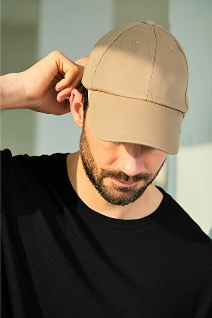 Sateen Men Erkek Vizon Şapka