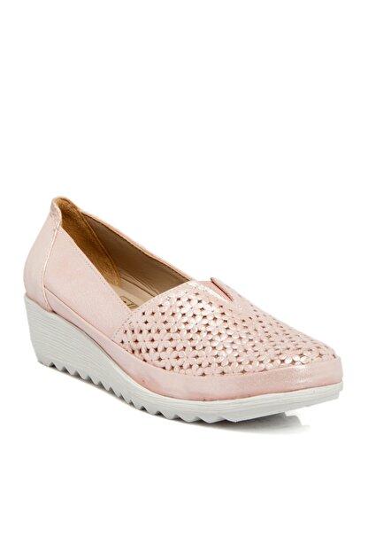 Tergan Pudra-simli Deri Kadın Ayakkabı 64206n0p