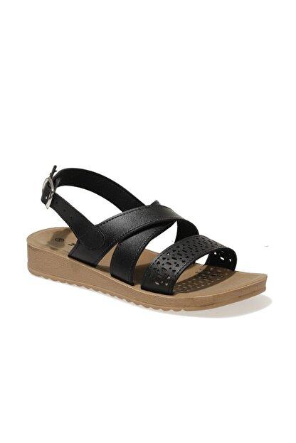 Polaris 161938.z1fx Siyah Kadın Comfort Sandalet