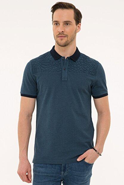 Pierre Cardin Lacıvert Erkek T-Shirt G021GL011.000.1074828