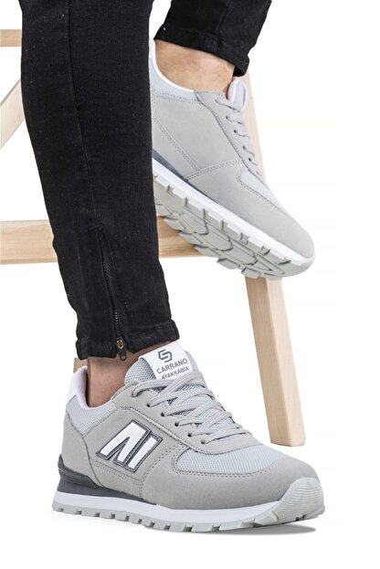 Ayakkabix Erkek Gri Spor Ayakkabı