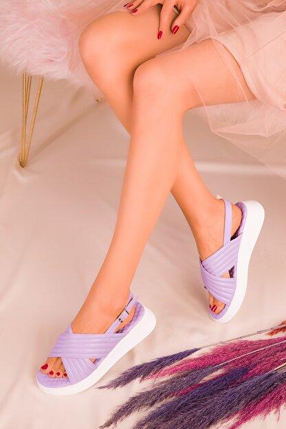 Soho Exclusive Lila Kadın Sandalet 16208
