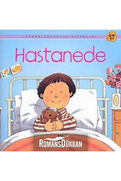 Tübitak Yayınları Erken Çocukluk Kitaplığı-hastanede & 3-6 Yaş
