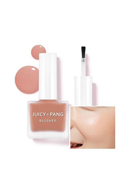 Missha Doğal Görünüm Sunan Nemlendirici Likit Allık 9g. APIEU Juicy-Pang Water Blusher (BE01)