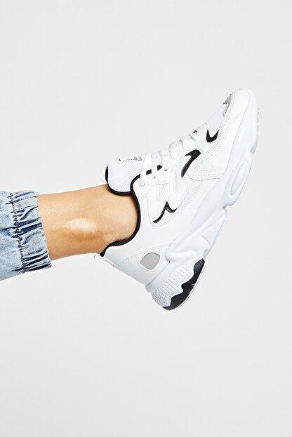 Tonny Black Unısex Beyaz Siyah Spor Ayakkabı Tb251