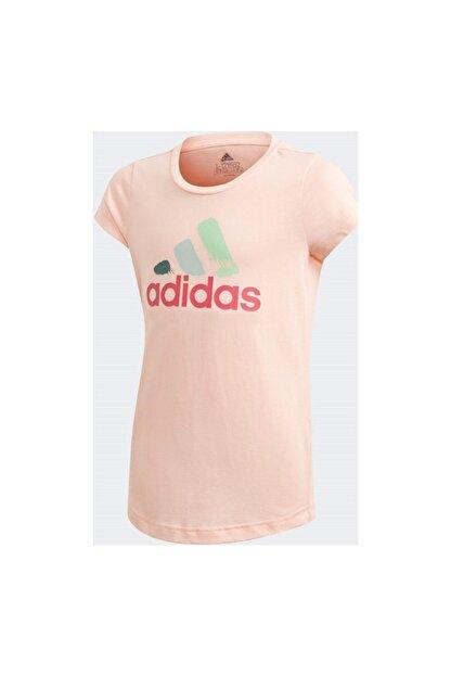 adidas Çocuk Pembe Antrenman Tişörtü