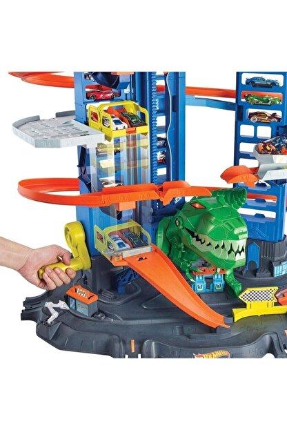 HOT WHEELS Gjl14 Hw Robotik T-rex Ultimate Garaj