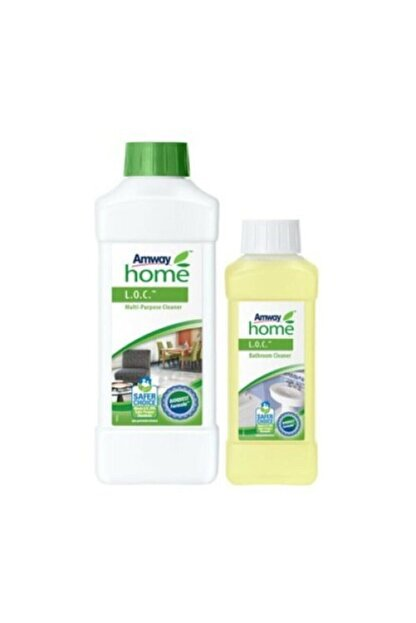 Amway Çok Amaçlı Temizleyici Paketi Loc+ Banyo Loc