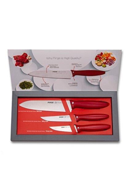 Pirge Pure Line Bıçak Seti 3'lü