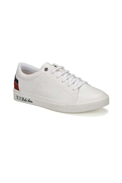 US Polo Assn Kadın Günlük Spor Ayakkabısı Sneaker - Beyaz - Btmz000385-beyaz-37