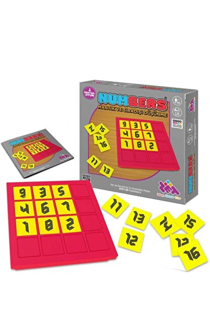 Zet Zeka Zet Zeka Eğitim Oyunu Numbers