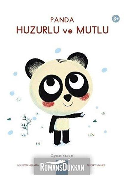 1001 Çiçek Kitaplar Panda Huzurlu Ve Mutlu-öğrenen Yavrular 3+
