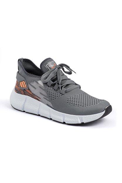 AKX 7 137 Füme Turuncu Hava Akışlı Erkek Spor Ayakkabı