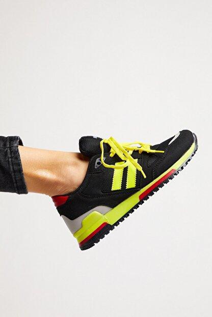 Tonny Black Siyah Sarı Unisex Sneaker TB282-0