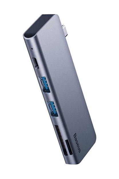 Baseus Harmonica Hub Type C to USB SD TF PD Dönüştürücü