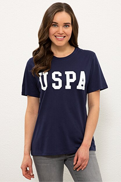 US Polo Assn Lacıvert Kadın T-Shirt