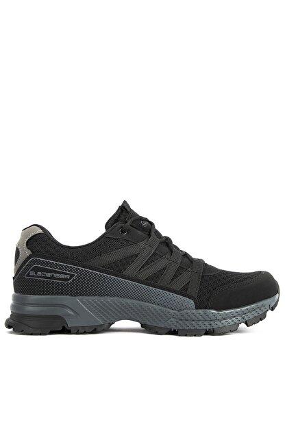 Slazenger Adonıs I Sneaker Erkek Ayakkabı Siyah Sa11re065