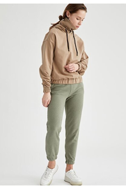 Defacto Bağcıklı Relax Fit Jogger Pantolon