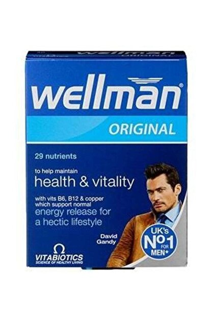 Wellman Vitabiotics Erkek Için 30 Tablet