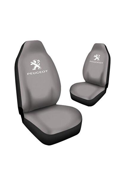 Antwax Peugeot 206 Araca Özel Oto Koltuk Kılıfı Pro - Gri ( Yeni Tasarım - Yeni Fit Kalıp )