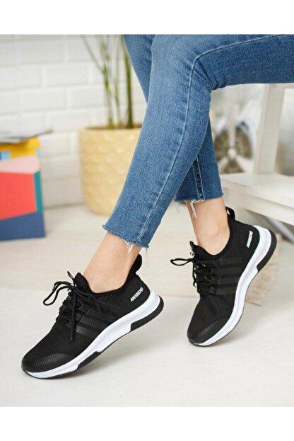 TUGGON Unisex Spor Tam Ortopedik Triko Sneaker Ayakkabı