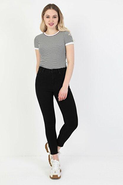 Colin's Kadın Siyah Süper Slim Fit Kadin Pantalon