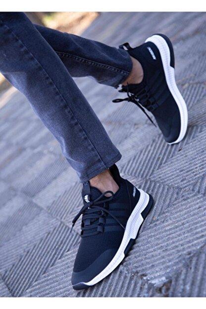 BUGGAMAN Unisex Siyah Spor Ayakkabı