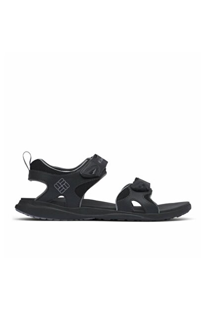 Columbia Erkek Siyah 2 Strap Sandalet