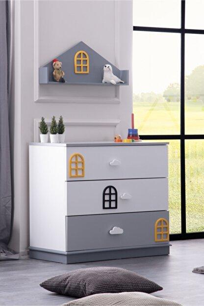 Setay Dolce Montessori Raflı Şifonyer