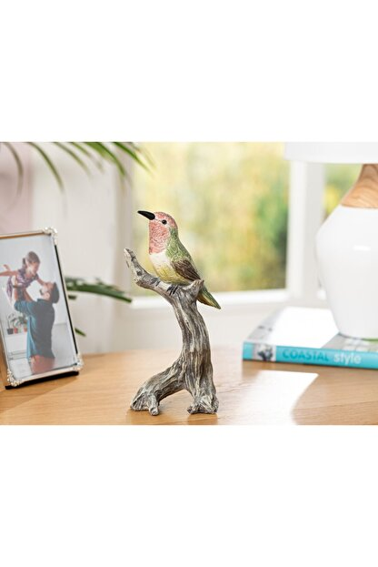 English Home Humming Birds Polyresin Biblo 9*7*19.5cm Yeşil