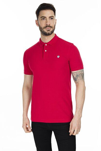 Lufian Laon Spor Polo T- Shirt Kırmızı