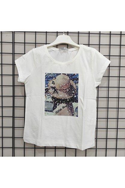 NK Kadın Beyaz  Tişört