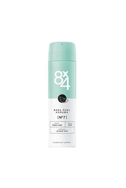 8x4 Deodorant No:7 Fresh Lime Kadın 150 ml Bana Özel Koruma