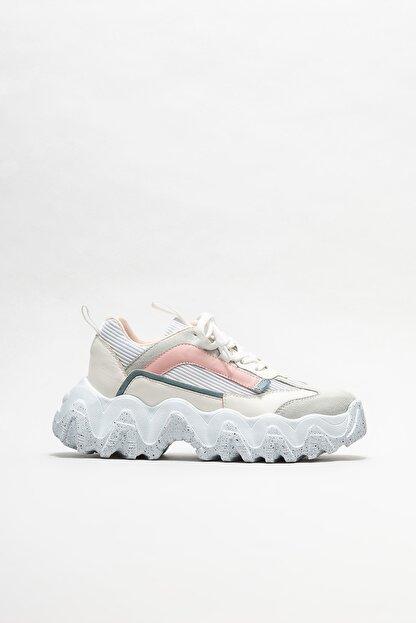 Elle Kadın Beyaz Spor Ayakkabı