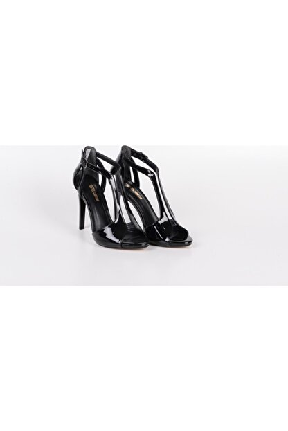 PUNTO Kadın Topuklu Ayakkabı Siyah