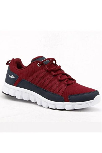 Lescon Unisex Bordo Spor Ayakkabı 4625