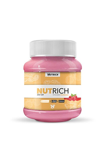 Nutrich Nutrition Nutrich Creamy Frambuazlı Doğal Fıstık Ezmesi 350 Gr