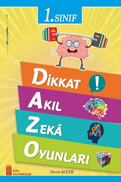 Ata Yayıncılık 1.sınıf Dikkat Zeka Akıl Oyunları
