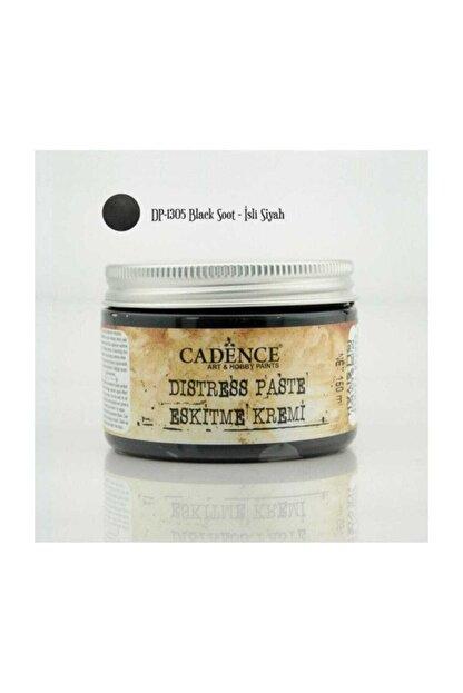 Cadence Boya Distress Paste Eskitme Kremi 150 ml. 1305 Isli Siyah