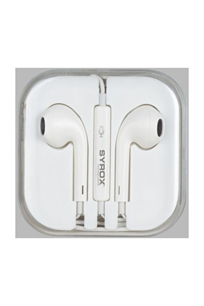 Syrox Iphone Tip Stereo Kulaklık