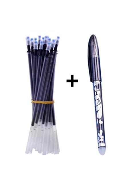 İşkur Makina Isı Ile Uçan Silinebilen Refill Kalem Içi Ve Kalem Siyah 11 Adet