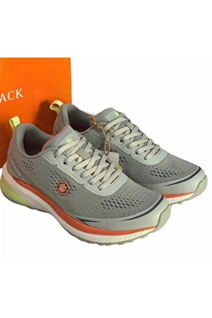 Lumberjack Kadın Açık Gri Memory Foam (hafıza Taban) Rahat Hafif Sneaker Spor Ayakkabı Cesar
