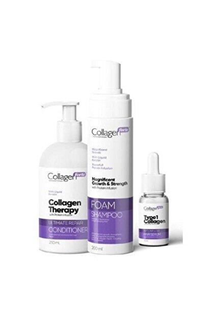 Collagen Forte Saç Bakım Serisi