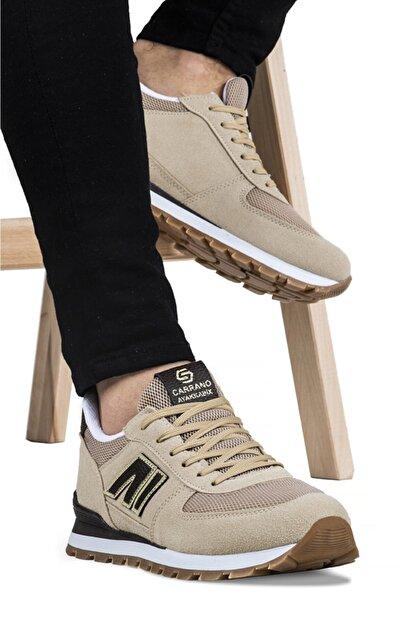 Ayakkabix Erkek Bej Günlük  Spor Ayakkabı