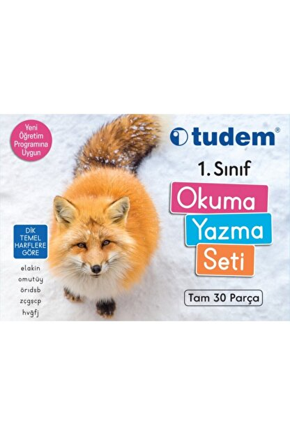 Tudem Yayınları Tudem 1.sınıf Okuma Yazma Seti