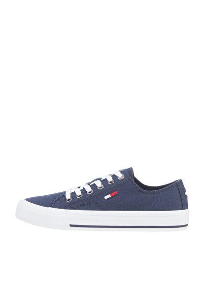 Tommy Hilfiger Kadın Lacivert Sneaker Tommy Jeans Low Cut Vulc EN0EN01351