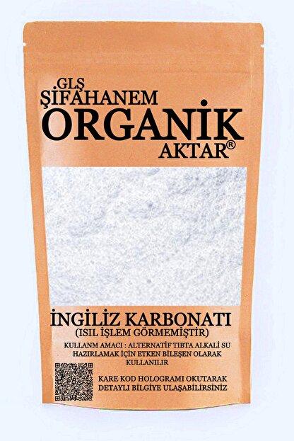 GLŞ ŞİFAHANEM ORGANİK AKTAR Ingiliz Karbonatı 250 gr Isıl Işlem Görmemiştir Ecza Kalite
